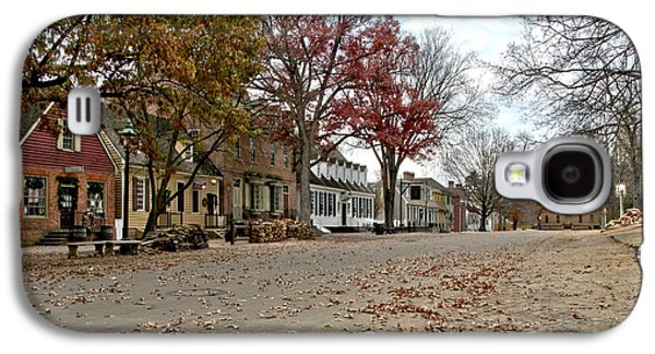 Empty Galaxy S4 Cases - Lonely Colonial Williamsburg Galaxy S4 Case by Olivier Le Queinec