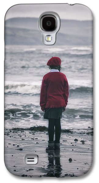 Beach Landscape Galaxy S4 Cases - Lonely Galaxy S4 Case by Joana Kruse