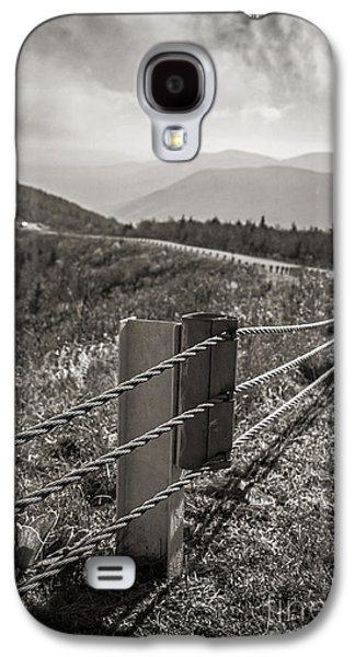 Stormy Weather Galaxy S4 Cases - Lonely Mountain Road Galaxy S4 Case by Edward Fielding