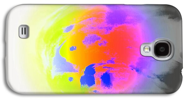 Psychiatric Paintings Galaxy S4 Cases - Lonely Planet Galaxy S4 Case by Hilde Widerberg