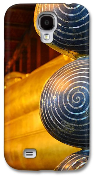 Ancient Sculptures Galaxy S4 Cases - Long Buddha Statue Galaxy S4 Case by Chaichana Pratomwong
