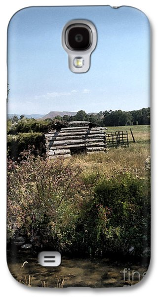 Western Reliefs Galaxy S4 Cases - Long Forgotten Galaxy S4 Case by Nena Trapp