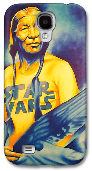 Brave Mixed Media Galaxy S4 Cases - Long Long Ago Galaxy S4 Case by Robert Martinez