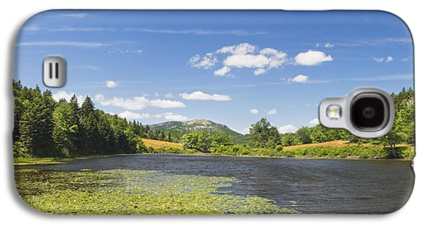 Maine Meadow Galaxy S4 Cases - Long Pond - Acadia National Park - Mount Desert Island - Maine Galaxy S4 Case by Keith Webber Jr