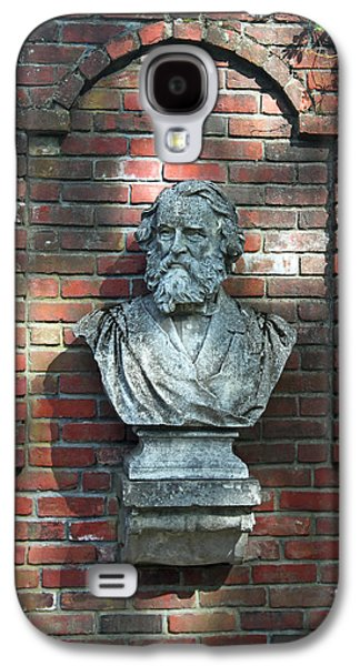 Statue Portrait Galaxy S4 Cases - Longfellow Galaxy S4 Case by Suzanne Gaff