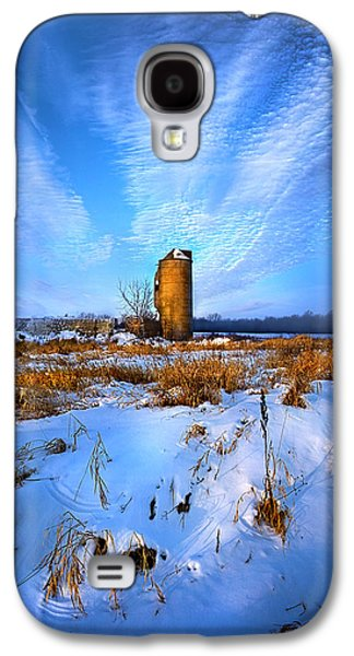 Silos Galaxy S4 Cases - Longing For Some Solitary Company Galaxy S4 Case by Phil Koch