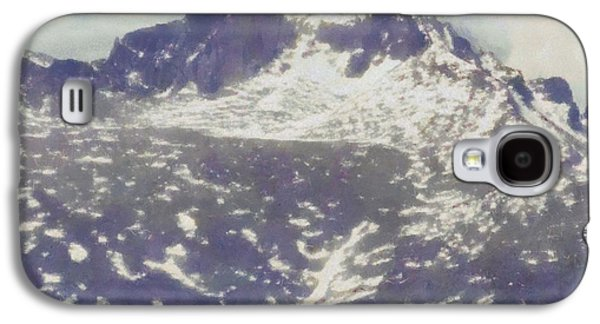 Nature Center Paintings Galaxy S4 Cases - Longs Peak Galaxy S4 Case by Dan Sproul