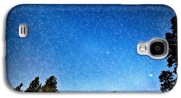 Stargazing Galaxy S4 Cases - Longs Peak Stargazing Colorado Galaxy S4 Case by James BO  Insogna