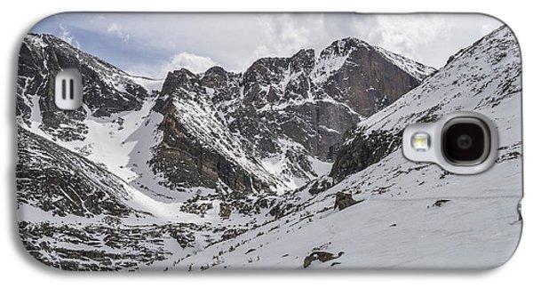Lady Washington Galaxy S4 Cases - Longs Peak Winter Galaxy S4 Case by Aaron Spong