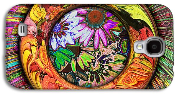 Photo Manipulation Galaxy S4 Cases - Look Through Any Window Galaxy S4 Case by Wendy J St Christopher