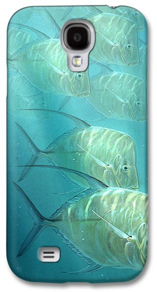 Fish Digital Art Galaxy S4 Cases - Lookdowns Galaxy S4 Case by Aaron Blaise