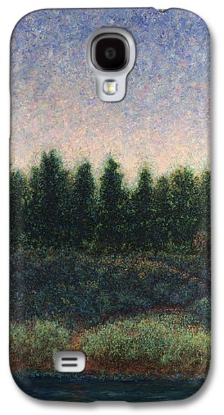 Mysterious Galaxy S4 Cases - Looking Back Galaxy S4 Case by James W Johnson