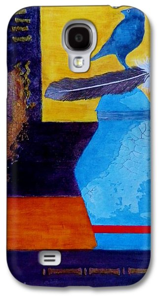 Boardroom Mixed Media Galaxy S4 Cases - Looking back - Remembering Galaxy S4 Case by David Raderstorf