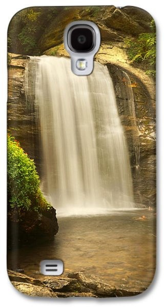 Look Galaxy S4 Cases - Looking Glass Falls 2 - North Carolina Galaxy S4 Case by Mike McGlothlen