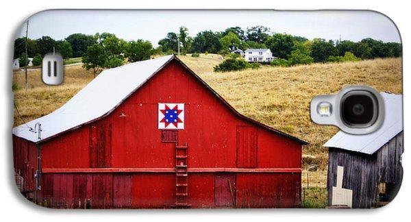 Loose Creek Quilt Barn Galaxy S4 Case by Cricket Hackmann