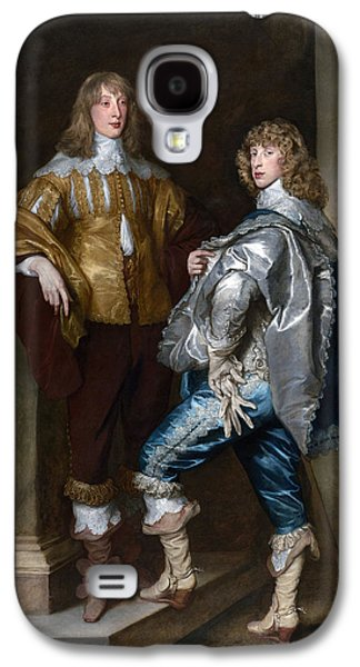 Gloves Galaxy S4 Cases - Lord John Stuart And His Brother, Lord Bernard Stuart C.1623-45 C.1638 Oil On Canvas Galaxy S4 Case by Sir Anthony van Dyck
