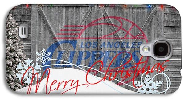Dunk Galaxy S4 Cases - Los Angeles Clippers Galaxy S4 Case by Joe Hamilton