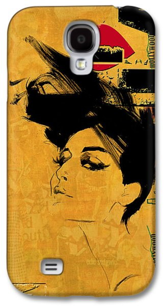 Cities Paintings Galaxy S4 Cases - Los Angeles Collage 2 Galaxy S4 Case by Corporate Art Task Force