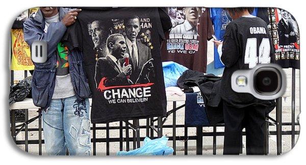 Barack Obama Galaxy S4 Cases - Los Angeles Street Scene Galaxy S4 Case by Jeff Lowe