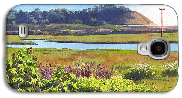 Pine Paintings Galaxy S4 Cases - Los Penasquitos Creek Torrey Pines Galaxy S4 Case by Mary Helmreich