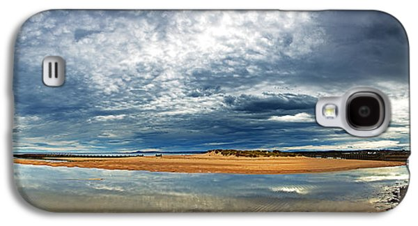 Scotland Galaxy S4 Cases - Lossiemouth pano Galaxy S4 Case by Jane Rix