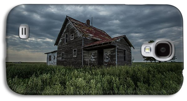 Abandoned House Photographs Galaxy S4 Cases - Lost Galaxy S4 Case by Aaron J Groen