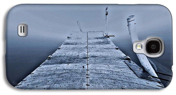 Boats At The Dock Galaxy S4 Cases - Lost At Sea Galaxy S4 Case by Dan Sproul