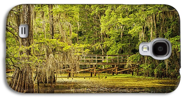 Tamyra Ayles Galaxy S4 Cases - Lost Bridge on Caddo Lake Galaxy S4 Case by Tamyra Ayles