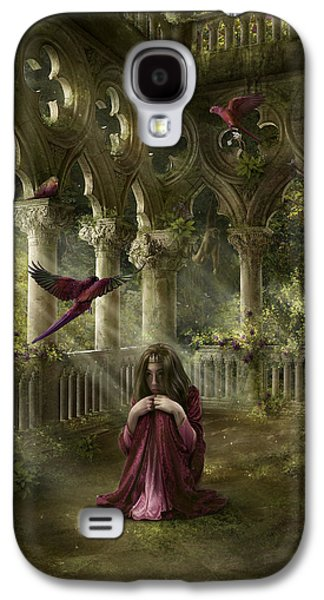 Phantasie Galaxy S4 Cases - Lost Galaxy S4 Case by Cassiopeia Art