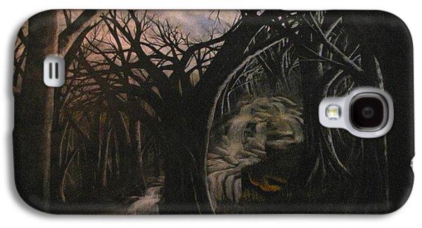 Erik Coryell Galaxy S4 Cases - Lost in a dream Galaxy S4 Case by Erik Coryell