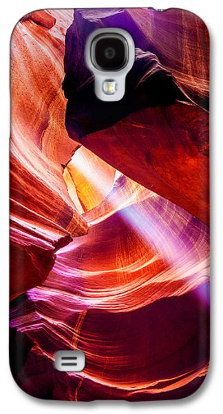 Sun Rays Galaxy S4 Cases - Lost  Galaxy S4 Case by Az Jackson