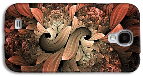 Youthful Galaxy S4 Cases - Lost In Dreams Abstract Galaxy S4 Case by Georgiana Romanovna