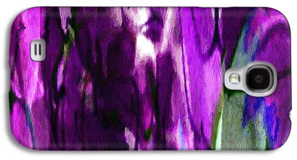Purple Robe Galaxy S4 Cases - Lost in the Marketplace Galaxy S4 Case by RC DeWinter