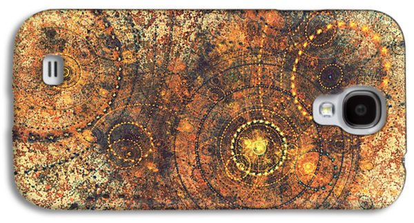 Abstract Digital Mixed Media Galaxy S4 Cases - Lost in time Galaxy S4 Case by Martin Capek