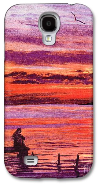 Lost In Wonder Galaxy S4 Case by Jane Small