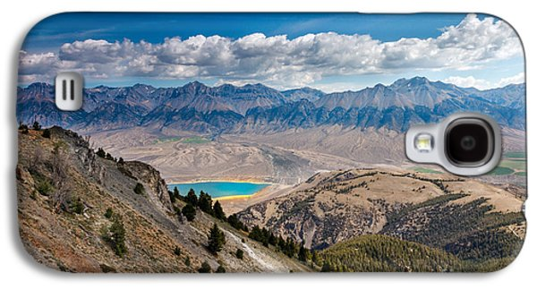 Fault Galaxy S4 Cases - Lost River Mountain Range Galaxy S4 Case by Robert Bales