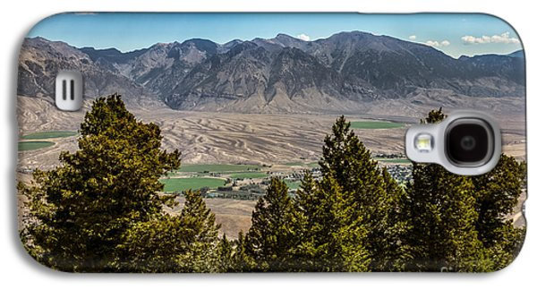 Fault Galaxy S4 Cases - Lost River Mountains Galaxy S4 Case by Robert Bales