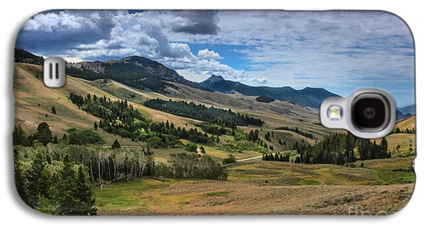 Fault Galaxy S4 Cases - Lost River Valley Galaxy S4 Case by Robert Bales