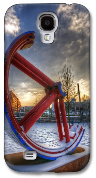 White River Scene Galaxy S4 Cases - Lost wheel Galaxy S4 Case by Nathan Wright