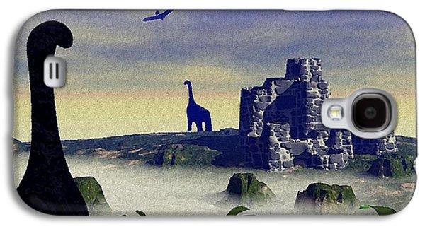 Animals Digital Galaxy S4 Cases - Lost World Galaxy S4 Case by Anastasiya Malakhova