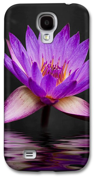 Flower Design Photographs Galaxy S4 Cases - Lotus Galaxy S4 Case by Adam Romanowicz