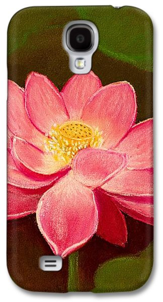 Recently Sold -  - Light Galaxy S4 Cases - Lotus Flower Galaxy S4 Case by Anastasiya Malakhova