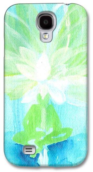 Dream Scape Galaxy S4 Cases - Lotus Petals Awakening Spirit Galaxy S4 Case by Ashleigh Dyan Bayer