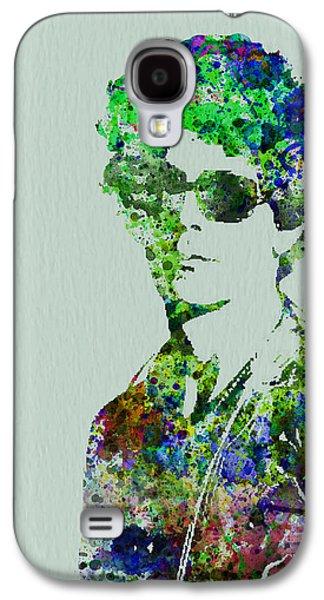 Irish Galaxy S4 Cases - Lou Reed Galaxy S4 Case by Naxart Studio