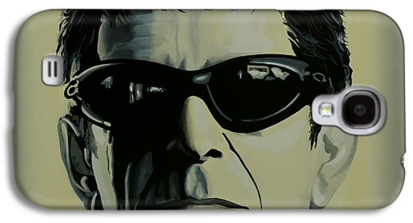 Realistic Art Paintings Galaxy S4 Cases - Lou Reed Galaxy S4 Case by Paul  Meijering