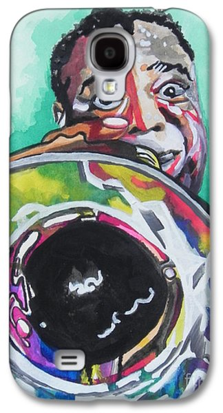 Louis Armstrong Galaxy S4 Case by Chrisann Ellis