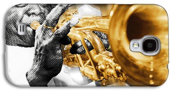 Louis Armstrong Galaxy S4 Case by Tony Rubino