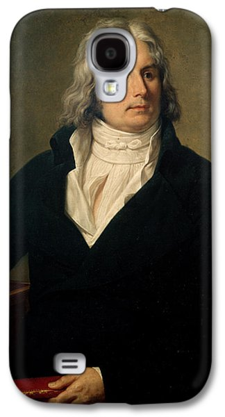 Historical Figures Galaxy S4 Cases - Louis-Francois Bertin Galaxy S4 Case by Francois Xavier Fabre