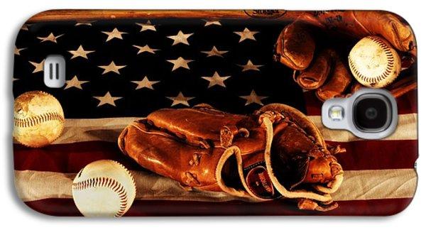 Baseball Galaxy S4 Cases - Louisville Slugger Galaxy S4 Case by Dan Sproul