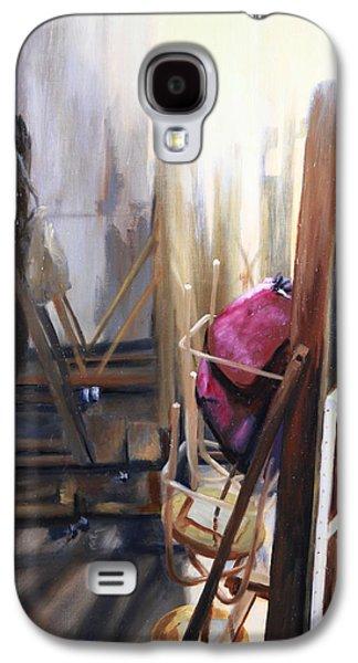 Louvre Closet Galaxy S4 Case by Shelley Irish